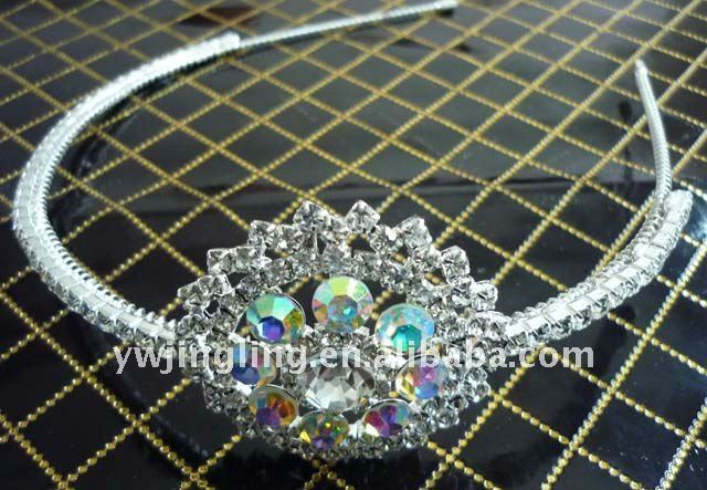 fashion designer crystal hairband