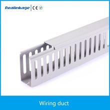 Wiring duct Grey white blue Halogen free low smoke Solid/Slotted pvc duct
