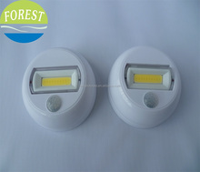 Cob motion sensor light,3 led sensor light,motion sensor night light with magnet