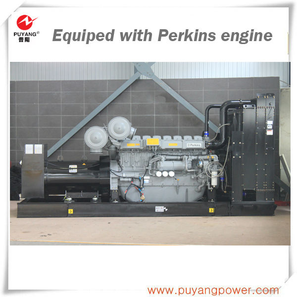 Made in china AC Three phase 1600kw/2000kva diesel generator