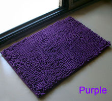 Floor Mat Chenille Fluffy Bedroom Rug Bath Doormat Carpet