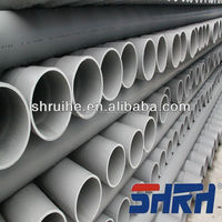 ASTM D2241 workshop 12 inch diameter pvc pipe/upvc pipe size class