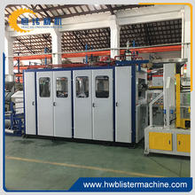 disposable plastic tea cup making machine thermoforming
