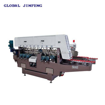 JFD2520 22 motors high speed glass double edging and polishing machine for building glass