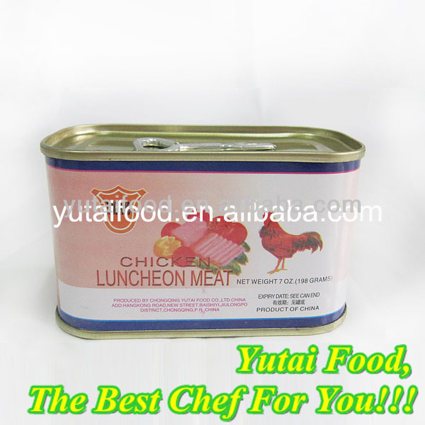 Halal Canned Chicken Luncheon Meat 340g