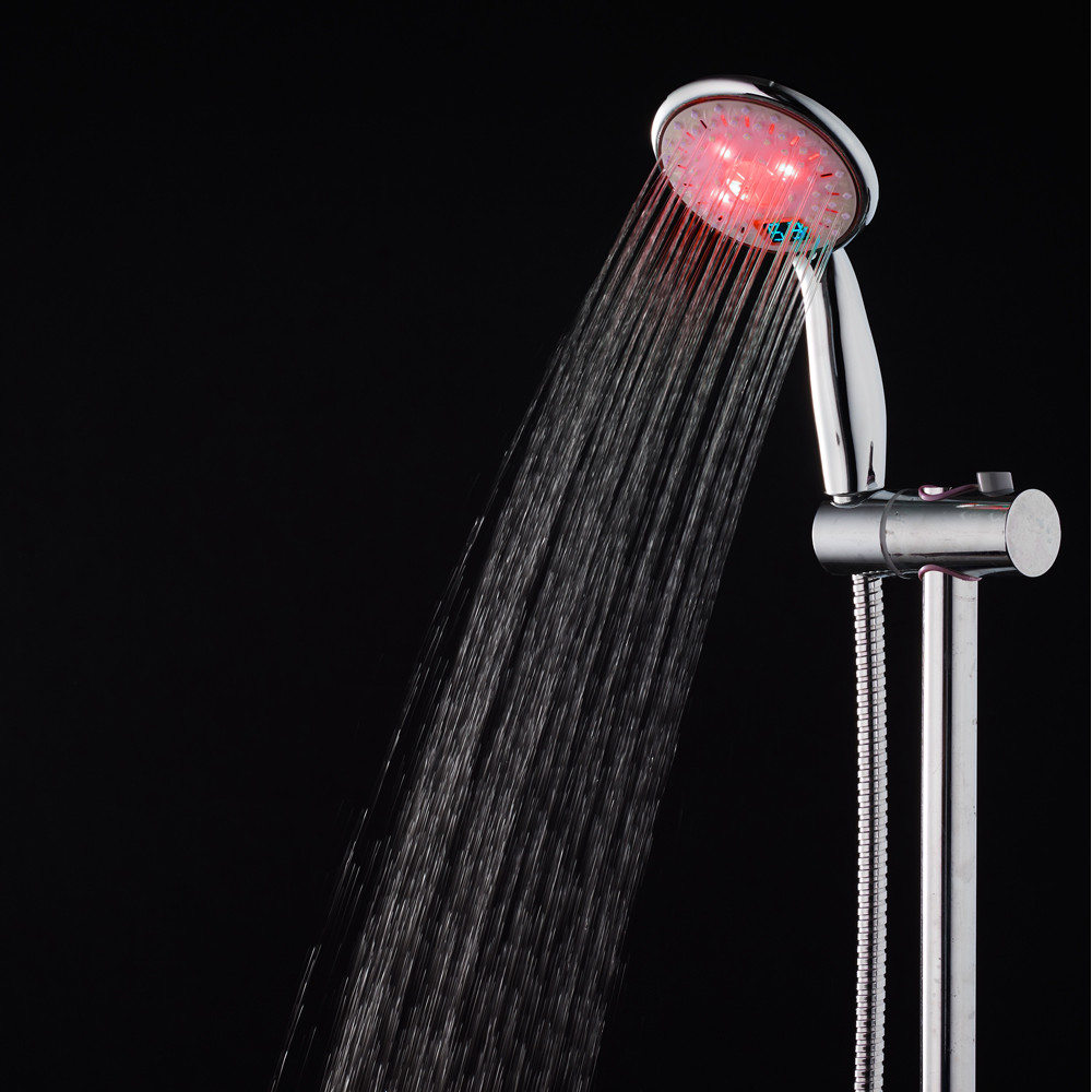 Hot sale! Temperature Controlled LED Shower Head