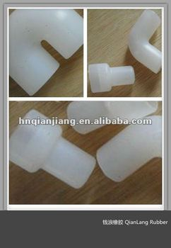 Custom 90/130/180 Degree Colored Silicone/PU/EMPD/NBR/NR/FKM&VITON Rubber Hose Elbow