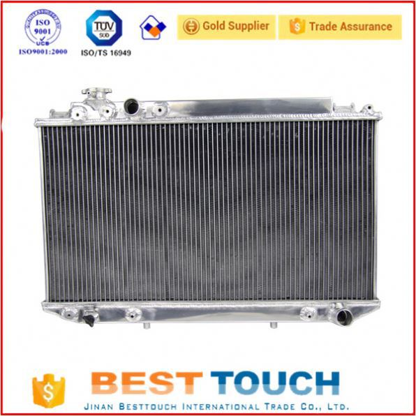 Cooling system diesel engine aluminum radiator cores for BUICK REGAL
