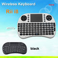 2016 Newest product ! 2.4GHz wireless Keyboard i8 for android tv box rii i8 wireless keyboard and mouse