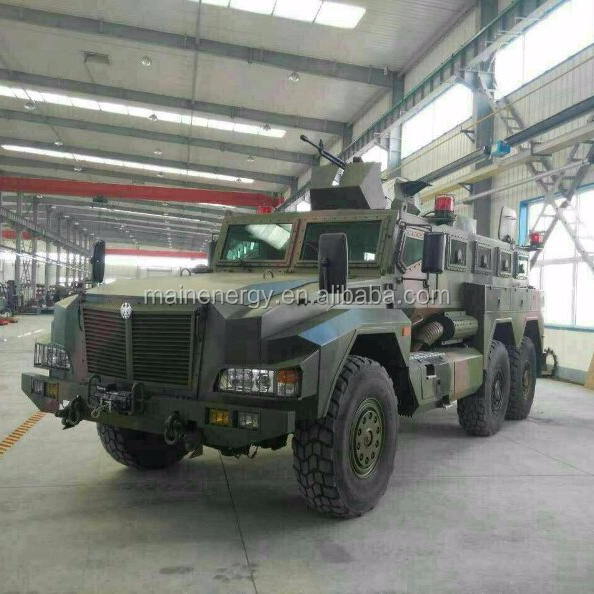 Anti-mines Armored military armored armored cash in transit vehicle Special Vehicle for police