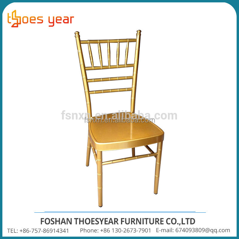 Customized stackable used chiavari chairs for sale