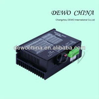 Miniature two phase bipolar stepper motor driver digital controller for stepper motor driver