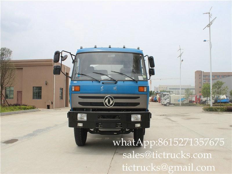 DF Dung vacuum truck 9m3 -06-Cesspit Emptier-Septic Tank.jpg