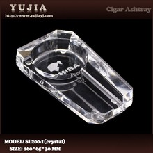 Guangzhou Yujia Wholesale COHIBA K9 crystal cigar ashtray hotel ashtray promotion gift ashtray