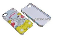 For iPhone 4 3D sublimation case, sublimation case for iPhone 4