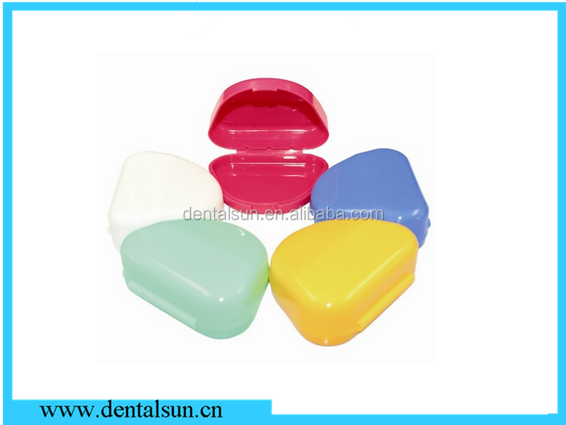 Triangle Of Teeth Storage Boxes/Dental Retainer Case