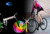 Bike light bicycle Brilliant Waterproof Cycling wheel light with 416led
