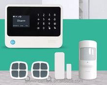 3G wireless alarm G90B plus , new version 3G home alarm system support 3G sim card and wifi network