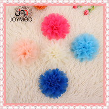 Factory Outlet Fabric Chiffon Flowers Handmade Chiffon Flower for Shoes