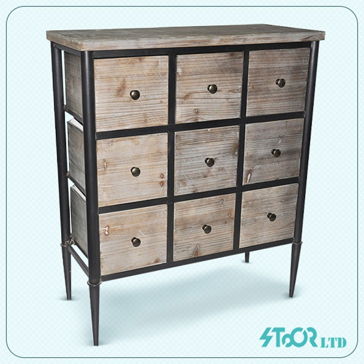 Low price antique chinese wood medicine cabinet sale