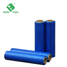 Factory hot direct LLDPE blue Colorful hand stretch film wrap film