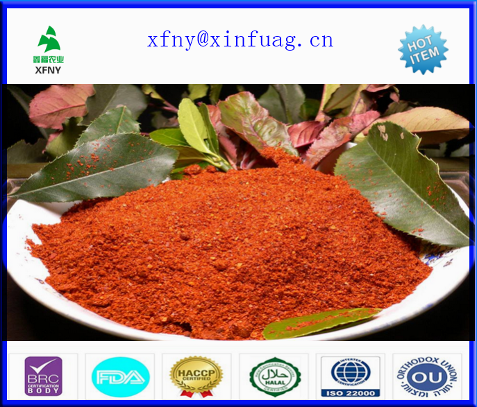 Mixed Spices And Seasonings 50000 SHU 17Percent Moisture Pepper Powder
