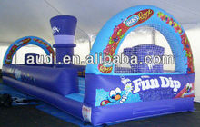Basketball Bungee Challenge(Interactive Promotional Custom Inflatable Games)