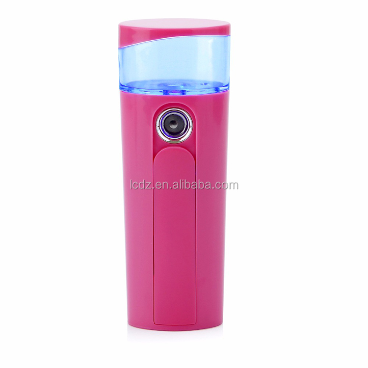 LC-S-1 Electric Fine Mist Sprayer Portable Water Mini Nano Facial Mist Sprayer Suppliers
