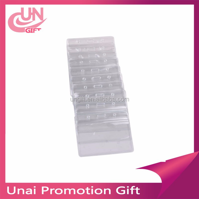 Soft Plastic Clear Credit Card Sleeves Protectors