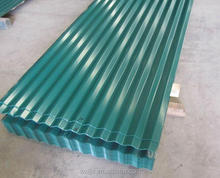 China manufacture colorful zinc aluminium roofing sheets
