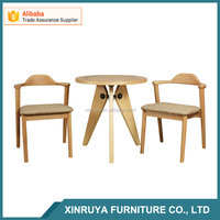 High quality wholesale dining room sets solid cafe table chair set