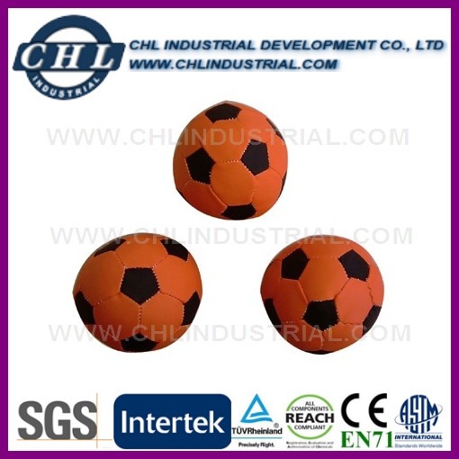 7cm hand sewing canvas cover kick ball