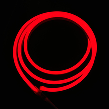 Red color led neon flexible light pipe