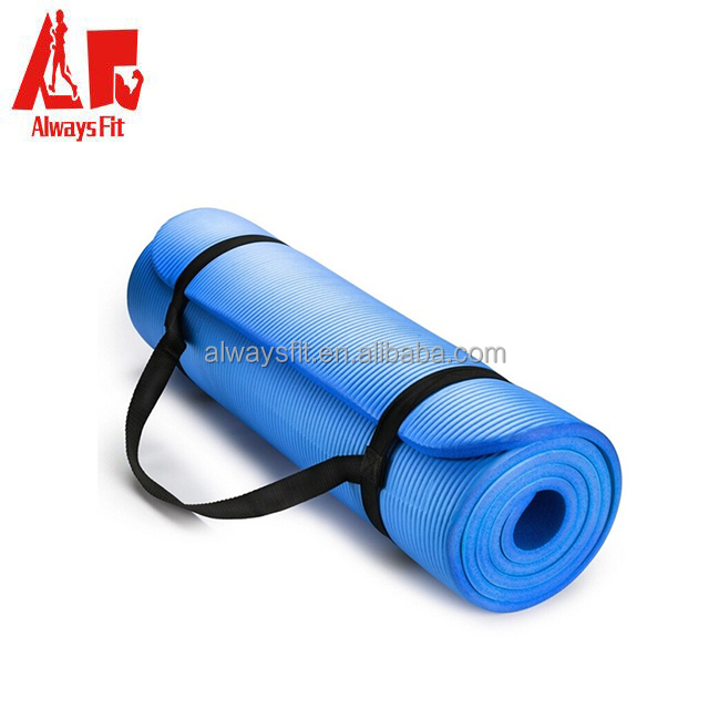 NBR yoga mat, wholesale sports equipment, promotional items china