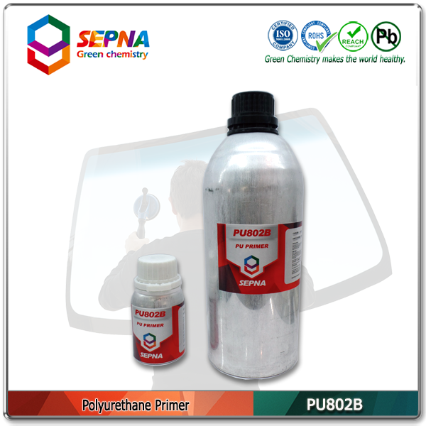 PU802 Primer used with PU adhesive for crack windshield