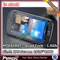 Original 5inch THL W8S MTK6589T Android 4.2 Smartphone 2GB 32GB free case