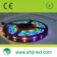 computer controlled flexible pixel led strip ws2801