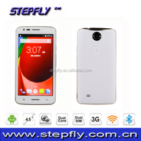 4.5 inch MTK6572 Dual Core 3G Mobile Phone Android 4.4 cell Phone