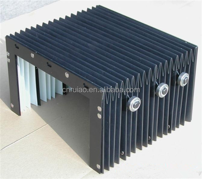 flexible fabric nylon accordion bellows cover linear way cover
