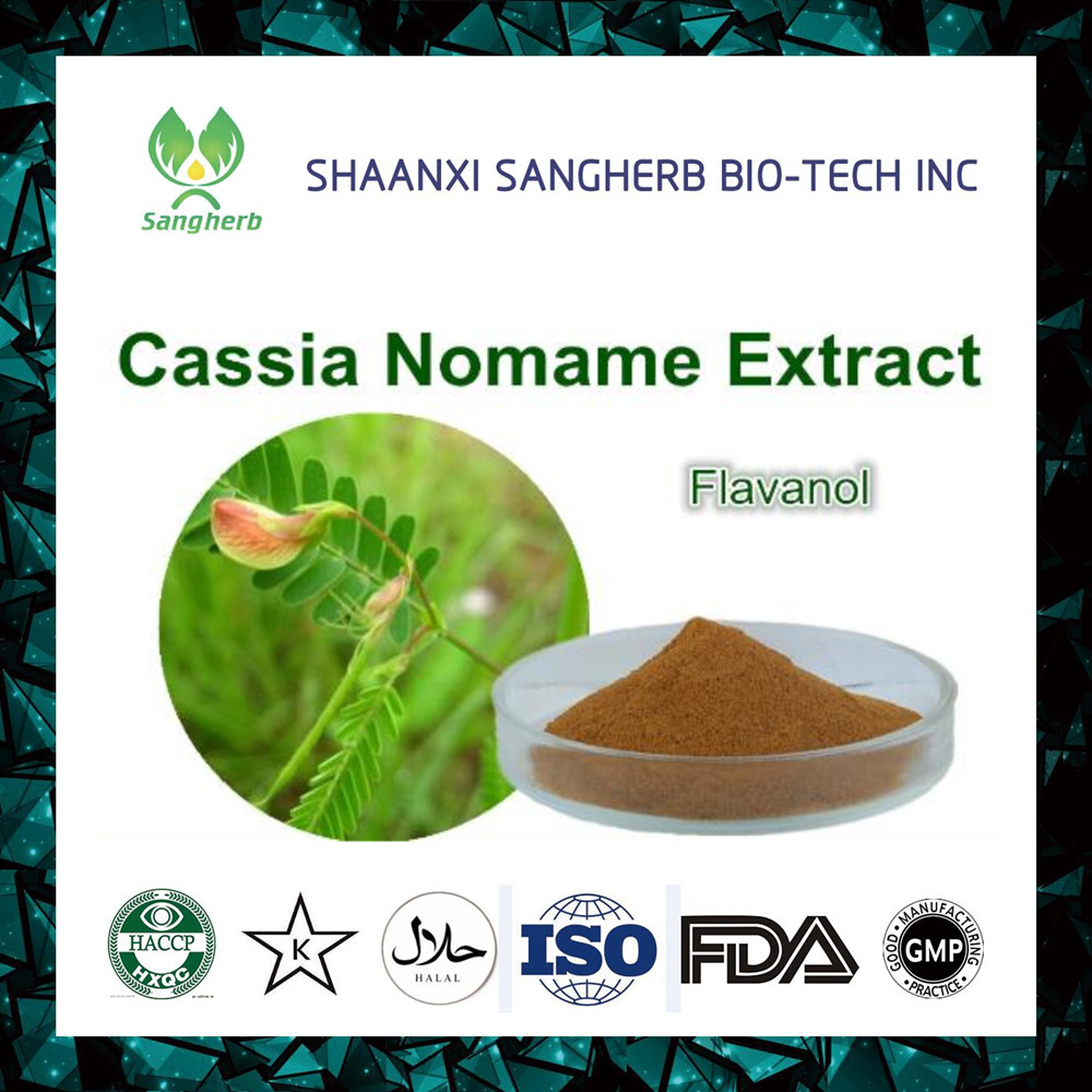 High quality Cassia Nomame lavones extract 16% powder