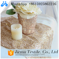 wedding decoration sequin fabric table runner