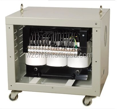 control transformer three phase 220v to 380v 400v power transformer 25kva