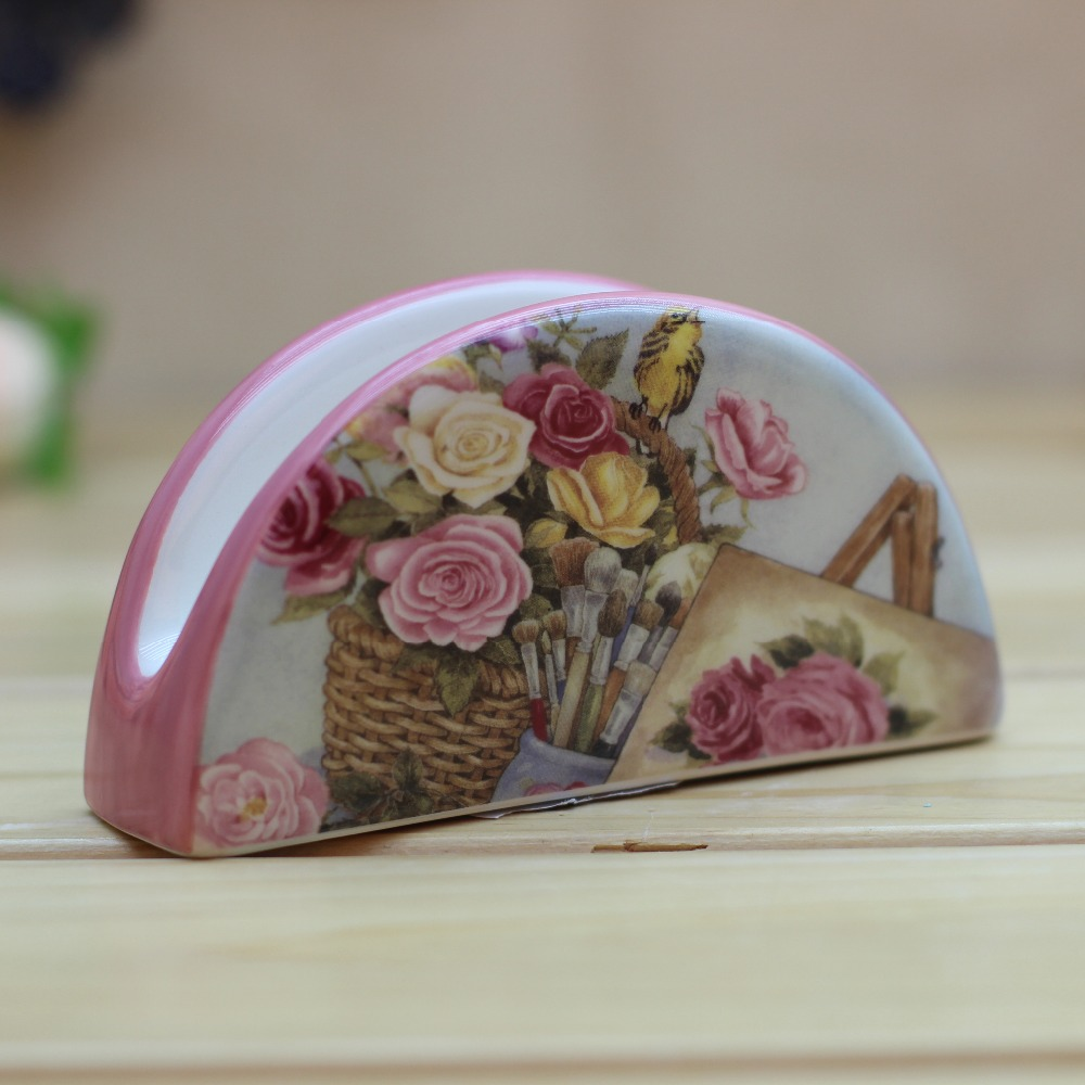 Flower Ceramic Napkin Holder Flower Ceramic Napkin Holder Suppliers