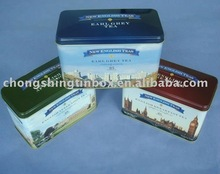 2013 new products coffee tin case from Dongguan