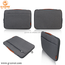 2018 full opening zipper design neoprene sleeve for laptop bag
