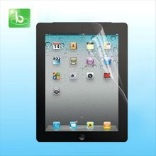2012 new arrival high clear screen protector for ipad mini with low facoty price