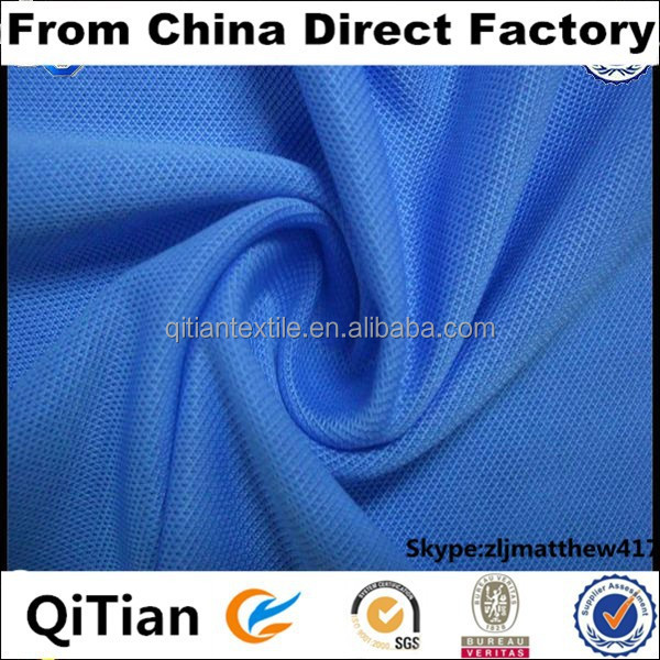 High Fashionable 100% Polyester Geo Mesh Fabric