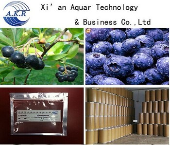 Manufacturer supply Anthocyanosides Acai berry extract / Acai berry P.E. / Acai berry powder