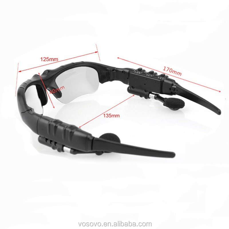 Stereo Wireless Bluetooth Headset Sunglasses with high quality wholesale