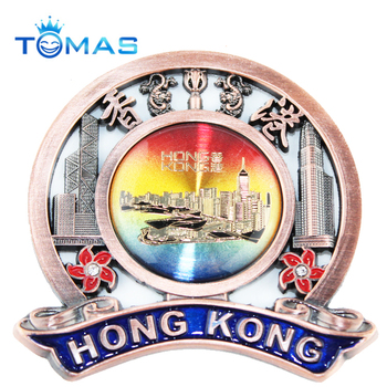 Novelty metal custom plaque tourist decorative souvenirs items